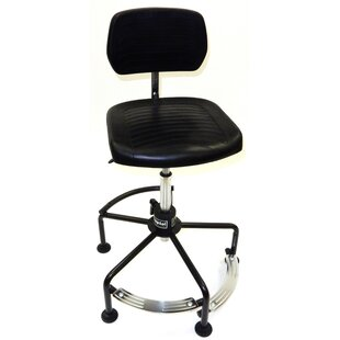 Tubular Base Height Adjustable Drafting Chair