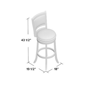 Westerman 29 Swivel Bar Stool Charlton Home