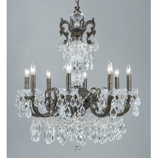 Classic Lighting Vienna Palace 8-Light Candle Style Chandelier