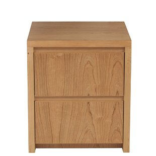 Kadon 2 Drawer Nightstand