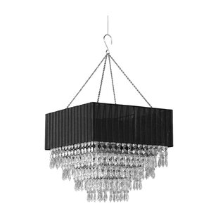 Zappobz Elegance 1-Light Crystal Pendant