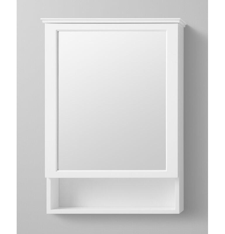 Ronbow Wyatt Surface Mount Framed 1 Door Medicine Cabinet With 2 Adjustable Shelves Reviews Wayfair
