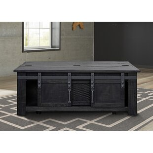 Rothwell Solid Wood Coffee Table with Storage