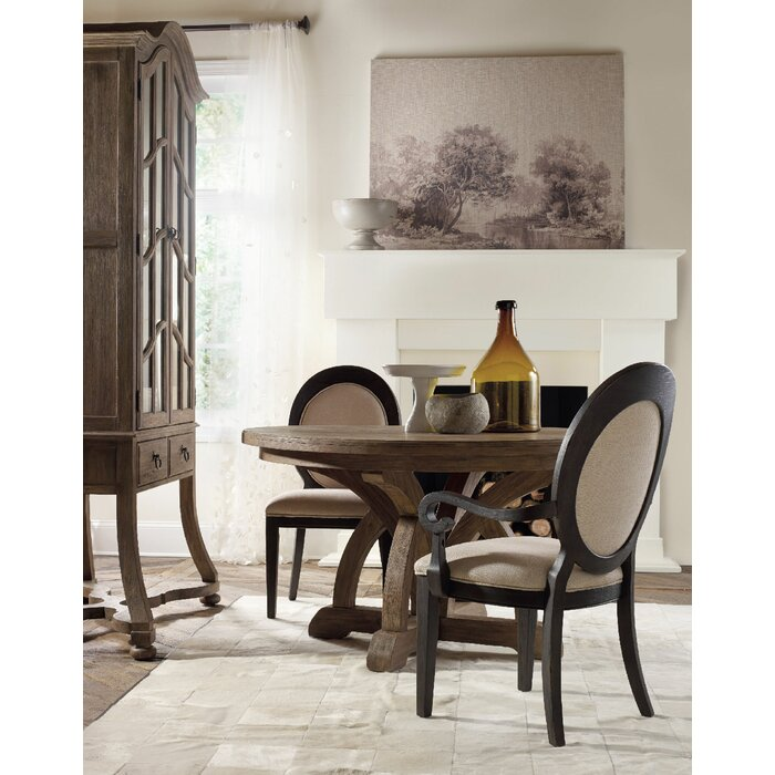 Corsica Upholstered Dining Arm Chair