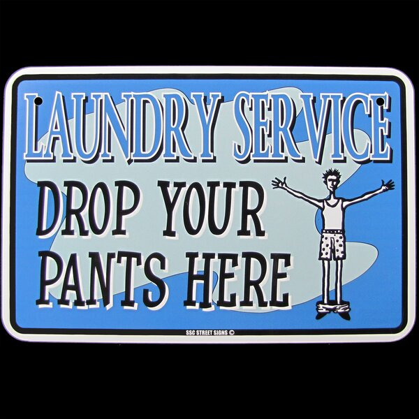Laundry Room Decor Signs