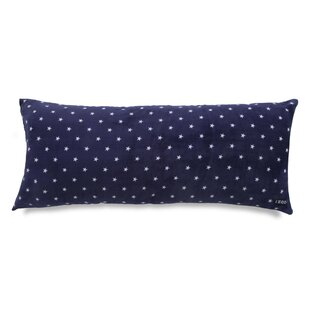 IZOD Stars Printed Plush Polyfill Body Pillow