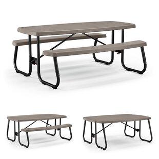 Resin/Plastic Picnic Table