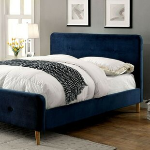 Asherman Contemporary Upholstered Platform Bed