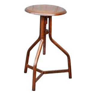 Wellingborough Adjustable Height Bar Stool Williston Forge