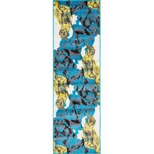 Sidney Turquoise Area Rug
