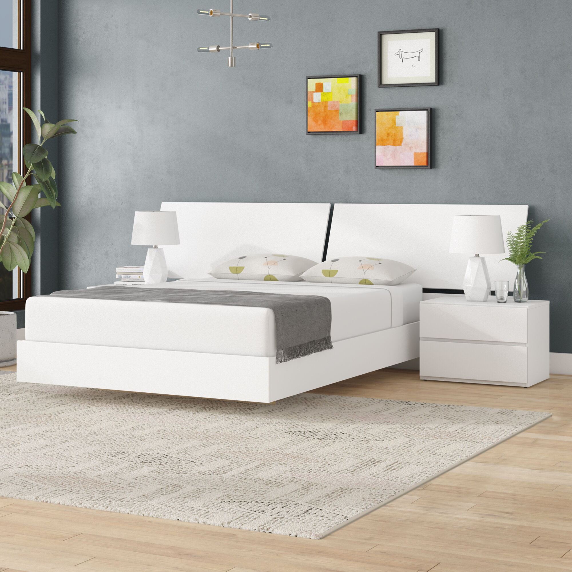 Picture of: Queen White Bedroom Sets You Ll Love In 2020 Wayfair