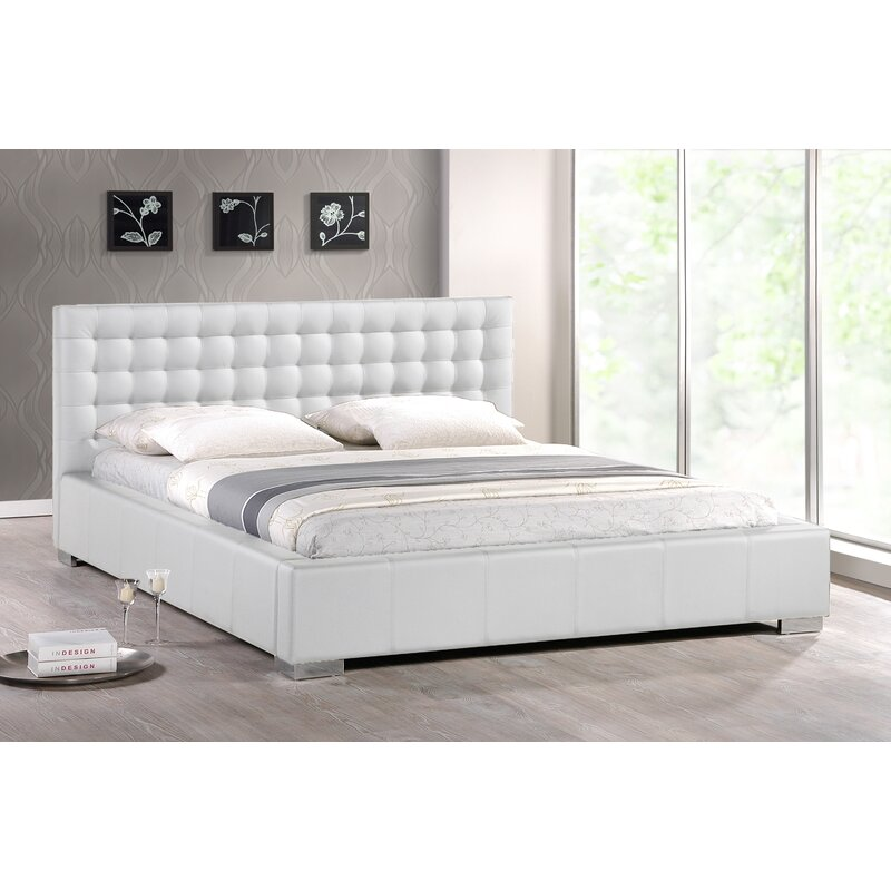 Ivy Bronx Coppock Tufted Upholstered Low Profile Platform Bed Reviews Wayfair