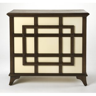 Clary 3 Drawer Accent Chest by World Menagerie