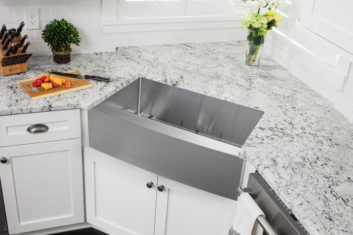 boylston 33   x 20   kitchen sink boylston 33   x 20   kitchen sink  u0026 reviews   joss  u0026 main  rh   jossandmain com