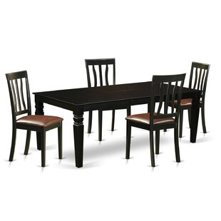 Annawan 5 Piece Dining Set DarHome Co