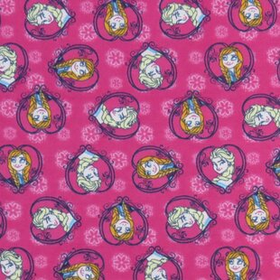 Price Check Anna and Elsa Toddler Fitted Crib Sheet BySheetworld