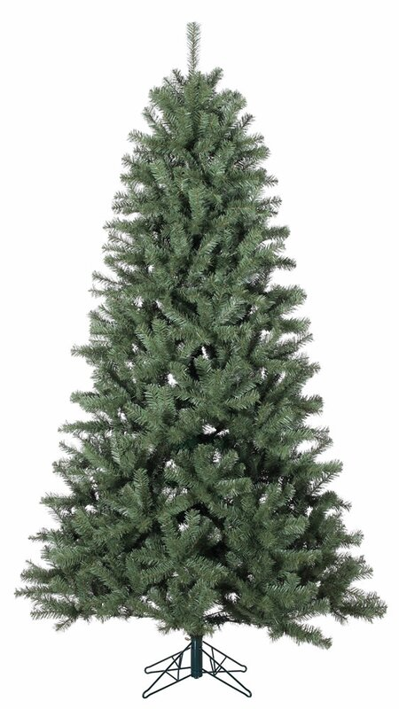 Mercury Row North Valley 7.5' Spruce Artificial Christmas Tree ...