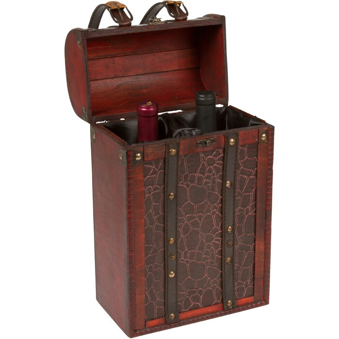 Trademark innovations tall treasure chest wine box reviews tall treasure chest wine box publicscrutiny Image collections
