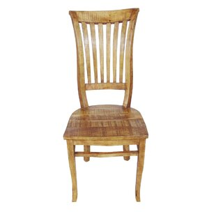 Theodore Solid Wood Dining Chair by Millwood Pines