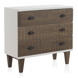 Nellie 3 Drawer Chest Of Drawers By August Grove