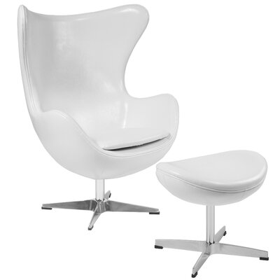 Remarkable Violeta Swivel Lounge Chair And Ottoman Brayden Studio Lamtechconsult Wood Chair Design Ideas Lamtechconsultcom