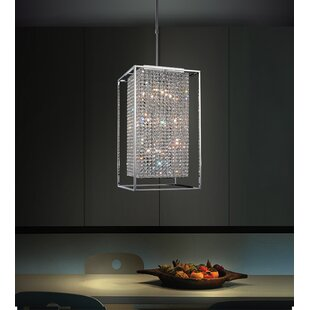 CWI Lighting Cube 11-Light Square/Rectangle Chandelier