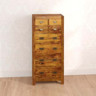 Guildhall 8 Drawer Chest Of Drawers By Bay Isle Home