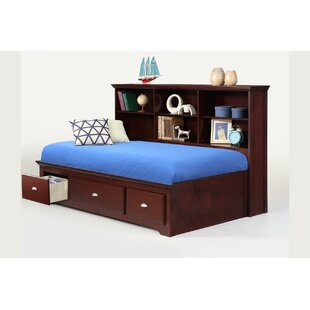 Dearborn Sideway Platform Bed with Drawer by Harriet Bee