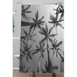 Adamek Palms Single Shower Curtain