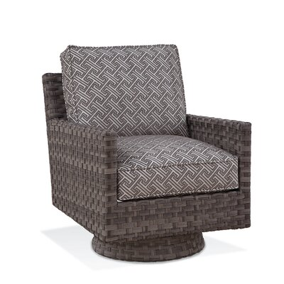 Luciano Swivel Patio Chair with Cushions Braxton Culler Cushion Color: 6282-61