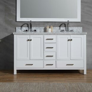 Joseline 61 inch  Double Bathroom Vanity Set