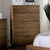 Buffington 5 Drawer Chest by Loon Peak®
