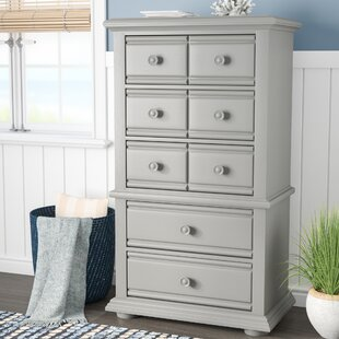 Hinsdale 5 Drawer Chest by Beachcrest Home