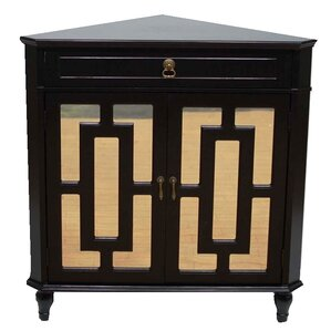 Corner Modern & Contemporary Cabinets & Chests You'll Love | Wayfair