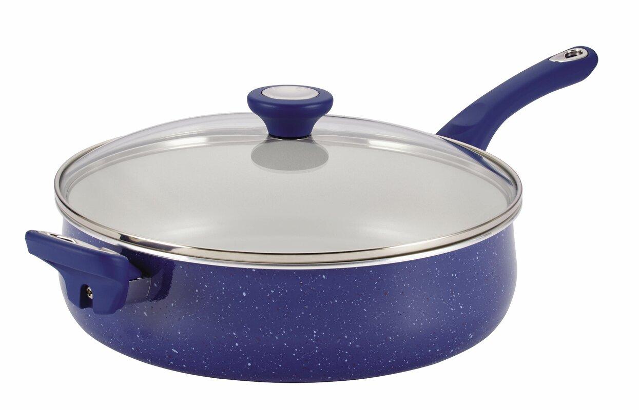 Farberware Ceramic Cookware 5 Qt. Saute Pan with Lid & Reviews ...