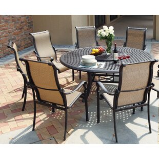 Darby Home Co Bagwell 7 Piece Round Dining Set
