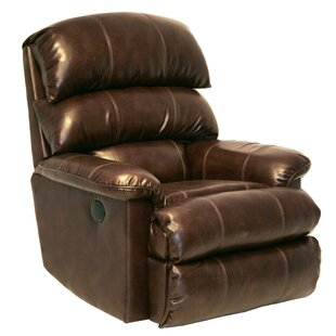Templeton Faux Leather Power/Manual Recliner by Catnapper