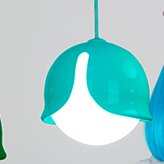 Innermost Snowdrop 1-Light Globe Pendant