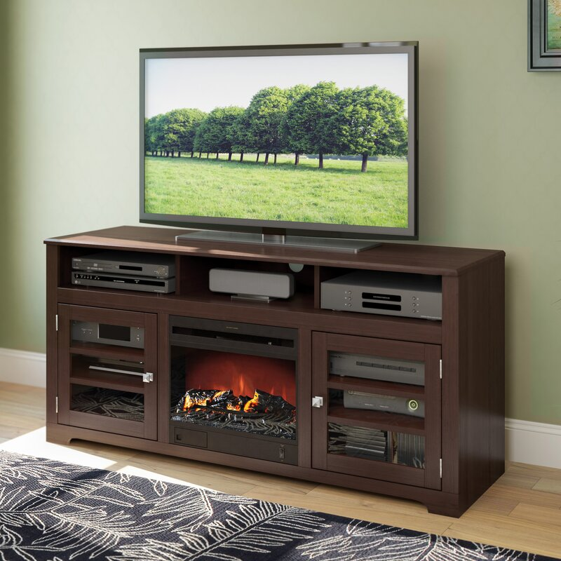 tv fireplace stand. west lake 60\ tv fireplace stand -