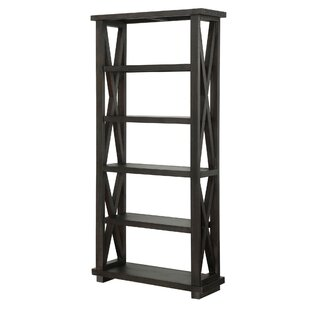 Alejandro 5 Tier Standard Bookcase by 17 Stories Top Reviews