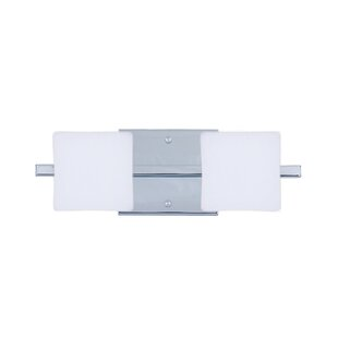Latitude Run Catella 2-Light Opal Matte Vanity Light