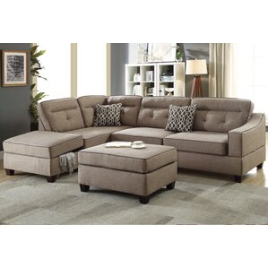 Sarah Reversible Sectional with Storage Comp..