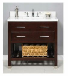 Priva 36 Single Bathroom Vanity Base Only by Empire Industries