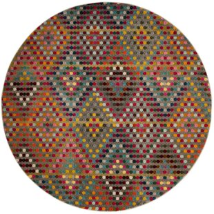 Power Loomed Multicolor Area Rug by Viv + Rae