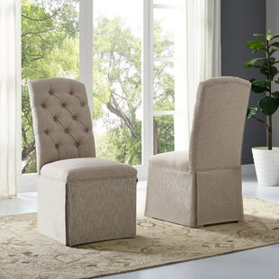 Schroder Upholstered Dining Chair (Set of..