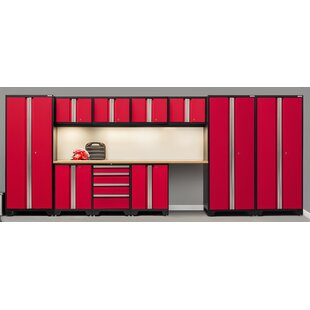 Bold 3.0 12 Piece Storage Cabinet Set by NewAge Products