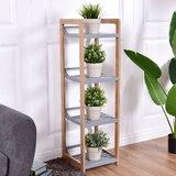Cathe 41.3 H x 12 W Etagere Bookcase by Latitude Run®