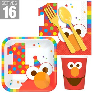 Elmo Turns One Disposable Snack Pack