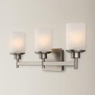 Cusick 3-Light Vanity Light By Ebern Designs