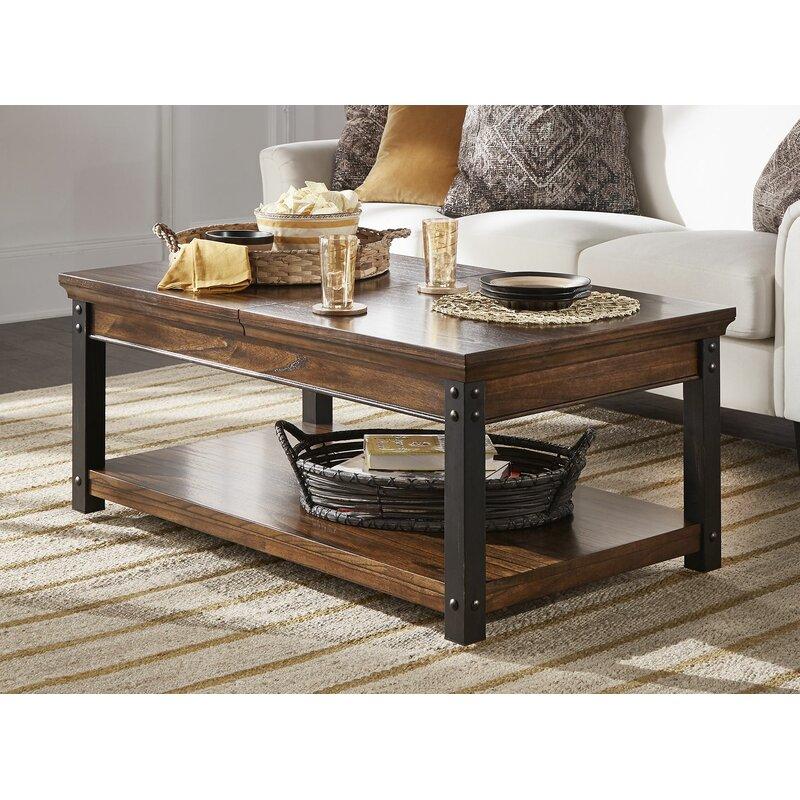 Gracie Oaks Amesbury Lift Top Coffee Table With Storage & Reviews Wayfair